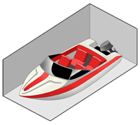 Picture of 10x30 Boat Unit